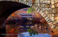 Arched Covered Bridge, Henniker, NH